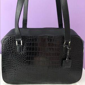 Black Ralph Lauren handbag.